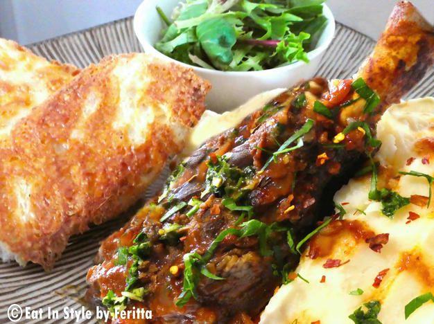 Delicious, fall off the bone meat - Mama Vil's Lamb Shanks!