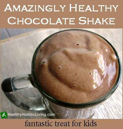 Amazingly Healthy Chocolate Shake