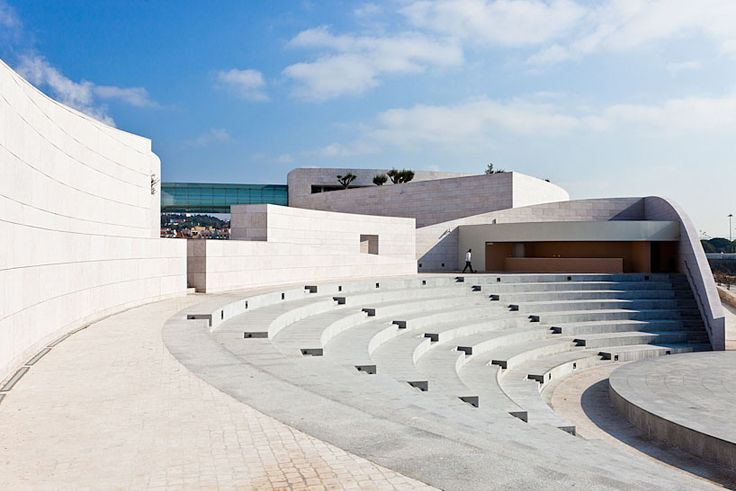 Champalimaud Center for the Unknown by Charles Correa, photographed by Rui Correia