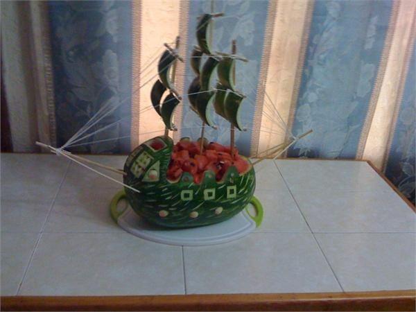 Afbeeldingsresultaat voor piratenschip watermeloen