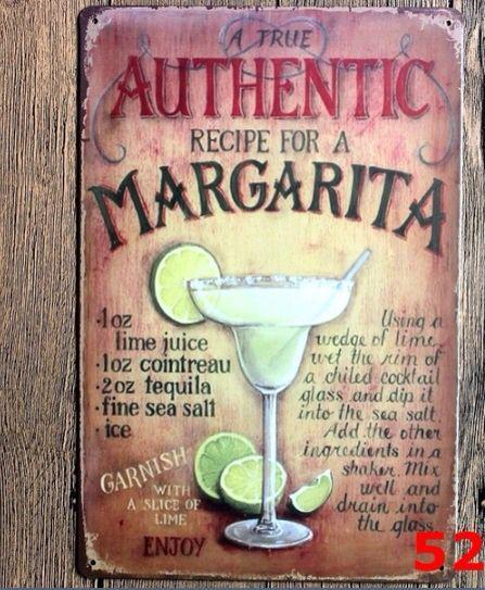 Authentic margarita