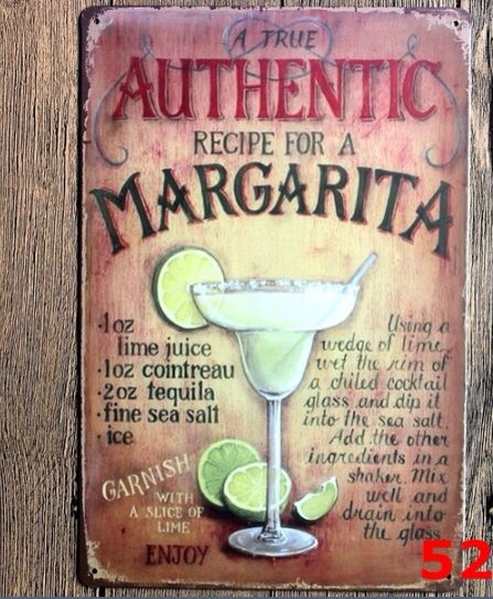 Authentic margarita