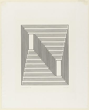 Monte Alban from the series Graphic Tectonic by Josef Albers: Monte Alban, Josef Albers, Annie Albers, Design Graphics, Graphics Tectonics, Graphics Design, Born Germany, Series Graphics, Albers American