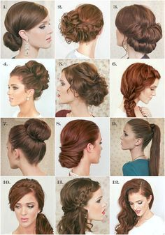 The Freckled Fox - a Hairstyle Blog: Last-minute New Years Eve hairstyle inspiration