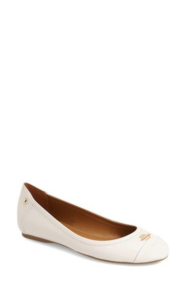 COACH 'Chelsea' Flat (Women) available at #Nordstrom