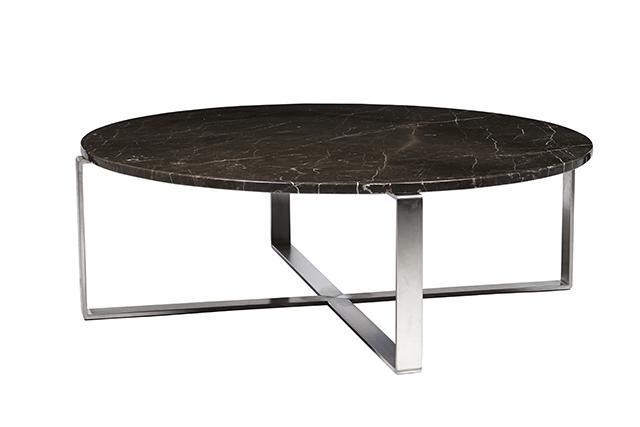 Elle Marble Cross Coffee Table  Available in in black, brown & white #globewest #marble  www.globewest.com.au