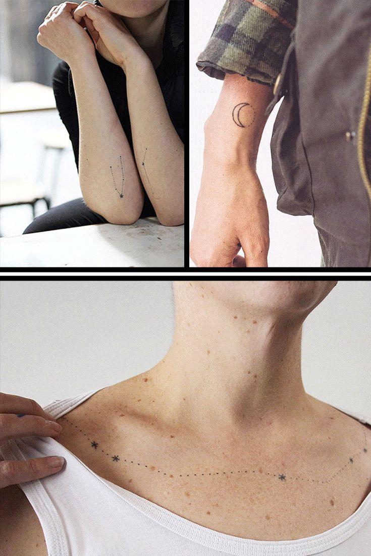 Kleine Tattoos, große Wirkung! 100 zauberhafte Motive zur Inspiration.  Jetzt auf gofeminin.de