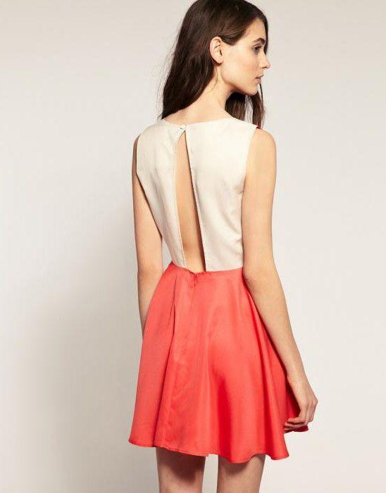 выкройка вечернего платья с открытой спиной