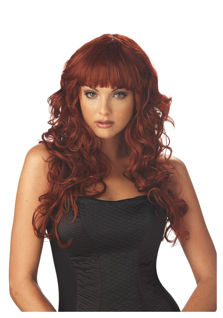 red wigs for women long red wig red hair wigs for women - Red Wigs For Halloween