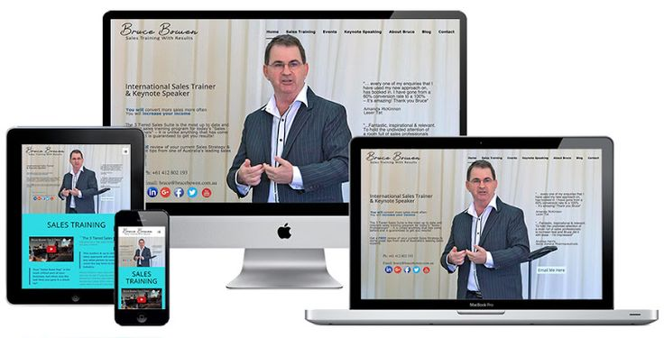 Ivolution Consulting - Adelaide Website Design - Bruce Bowen Sales Training