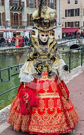 Annecy, France. Participants at the Annual Carnival Venitien d' Annecy . The Annecy Venitien festival was held from 23 and 24 February 2013. Picture was taken on 23rd February 2013