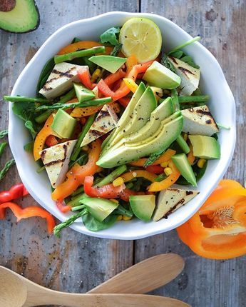 Chopped Crunchy Veggie Salad from Tone It Up!