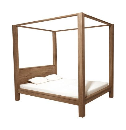 Cheap Canopy Beds | Element Canopy bed. Built to last, Element's clean, pure lines will ...