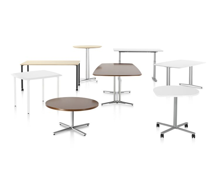 Everywhere Height-Adjustable Tables by Herman Miller available at Office World Workplace. info@officeworld.com | www.officeworldworkplace.com