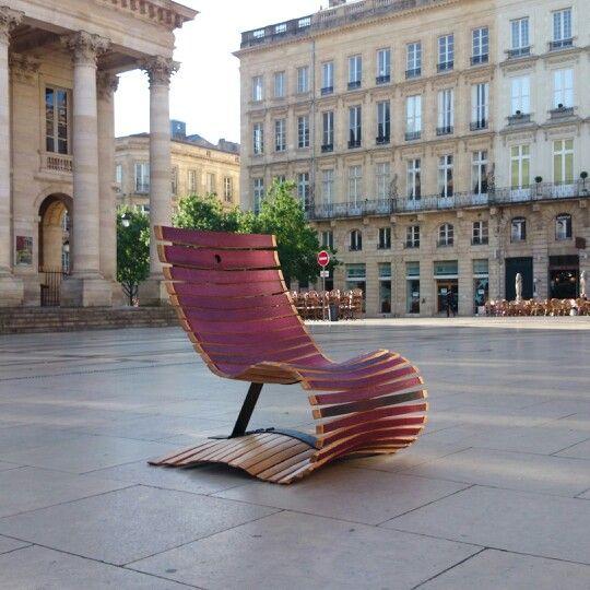 fauteuil en douelles de barriques dowell collection design wood barrel denjean pinterest. Black Bedroom Furniture Sets. Home Design Ideas