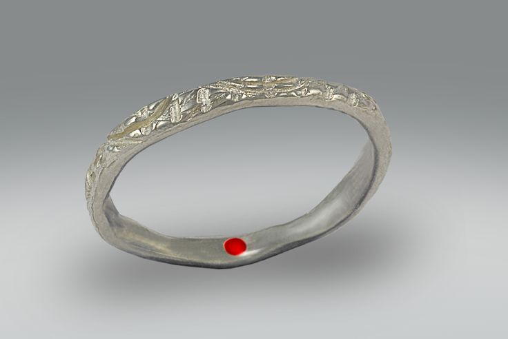 France Roy. Série Clan. Bague. Sterling silver. Coloured resin.