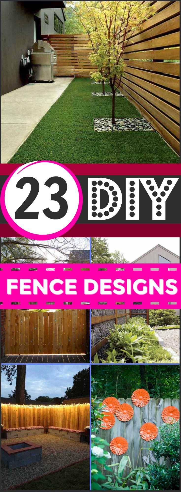 best 25 fence design ideas on pinterest fencing privacy wall outdoor and backyard fences. Black Bedroom Furniture Sets. Home Design Ideas