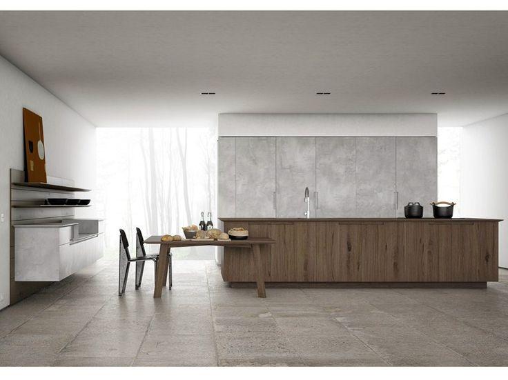 Fitted kitchen YARA by CESAR ARREDAMENTI | design Gian Vittorio Plazzognawww.gelosaarredi.it www.gelosaarredi.com www.interiordesignitaly.com #interiordesignitaly #italianfurnishings#italianfurniture#Kitchen #design