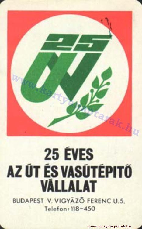 1975 - 1975_0826 - Régi magyar kártyanaptárak