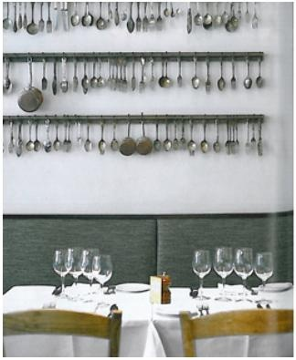'Villandry' an all-day French restaurant in the heart of London. For all you foodies out there, there is a charcuterie, foodstore, bakery, AND bar all under one roof.    http://www.villandry.com/