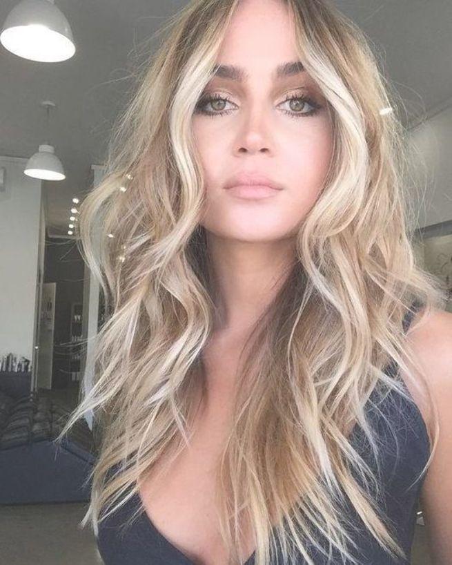 55+ Trends 2019 Ideen für Haarfarben und Frisuren #haartrends # hairtrends2019 #ha …