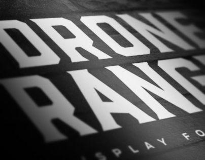 """다음 @Behance 프로젝트 확인: """"Drone Ranger Display Font"""" https://www.behance.net/gallery/28955309/Drone-Ranger-Display-Font"""