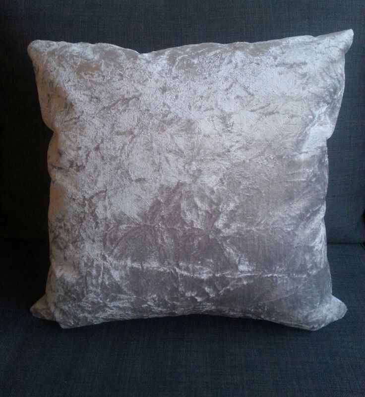 Silver light Pillow, Elegant and modern for Living Rooms by PaolaGonzalezDesign on Etsy
