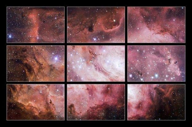 Un sondeo estelar capta la formación de estrellas en la nebulosa de la Laguna   USA Hispanic PressUSA Hispanic Press