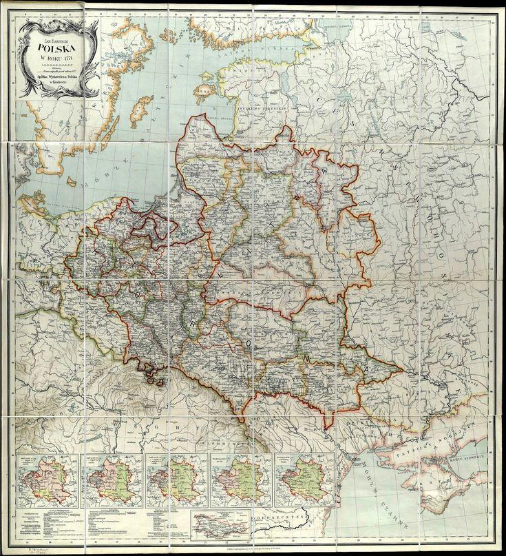 Mapa Rzeczypospolitej