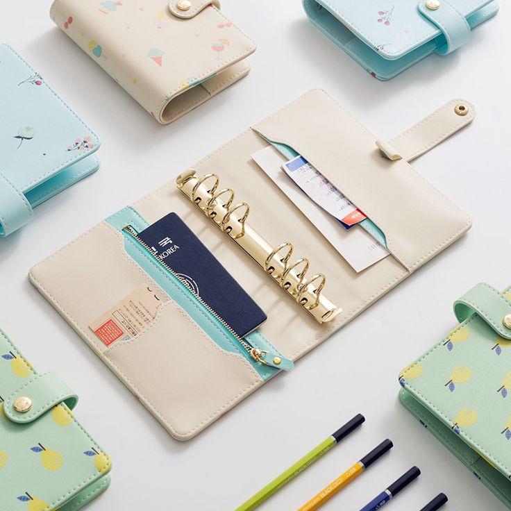 2017 новый симпатичный ноутбук школьный дневник/органайзер повестки дня/архивная папка кожаная тетрадь/дневник планировщик A6 A7 купить на AliExpress