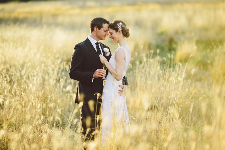 Hunter Valley Wedding, love the long grass.  Image: Cavanagh Photography http://cavanaghphotography.com.au