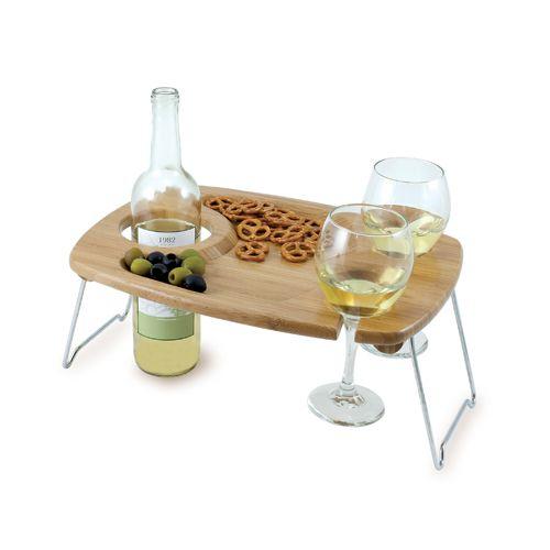 Picnic Time Mesavino Wine Serving Table