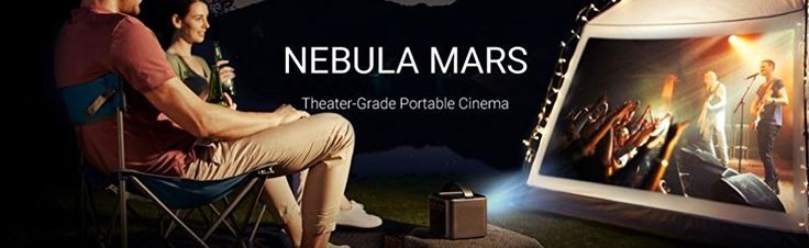 Deal of the Day: Save 44% on Nebula Mars Portable Cinema Home Theater for 9/27/2017 only!   The Nebula Mars is a theater-grade portable cinema that can connect wireless and stream from almost anything that you want to display.  So now you can have the movie night outside or display some spooky decor on your house. Either way you can take it wherever you like, just don't forget the popcorn.   Price:	$799.99  Deal of the Day:	$449.00 & FREE Shipping.  You Save:	$350.99 (44%)   Brilliantly…