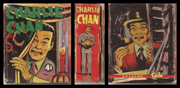 """TIJOLINHO - Coleção """"Gibi"""": CHARLIE CHAN. 1942..."""
