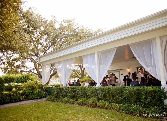 Tampa Wedding Davis Islands Garden Club Lauren Pauline Tampa