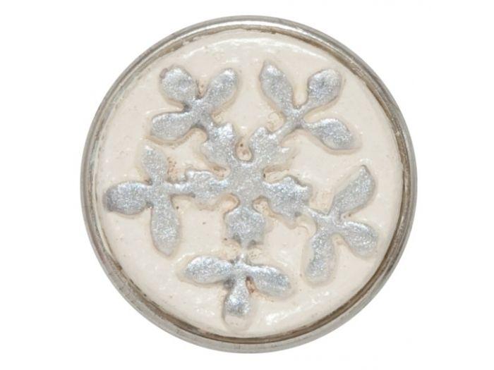 NOOSA chunk Pure snow Sneeuw wordt gezien als symbool voor sereniteit en vriendschap. Omdat geen enkele sneeuwvlok hetzelfde is, staat een afbeelding van het ijskristal voor authenticiteit.