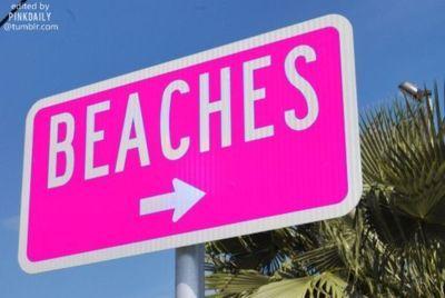 BEACHES: Pink Beach, Beaches, Beach Signs, Summer Beach, Summer Lovin, The Beach, Place, Beach Life, Summer Time