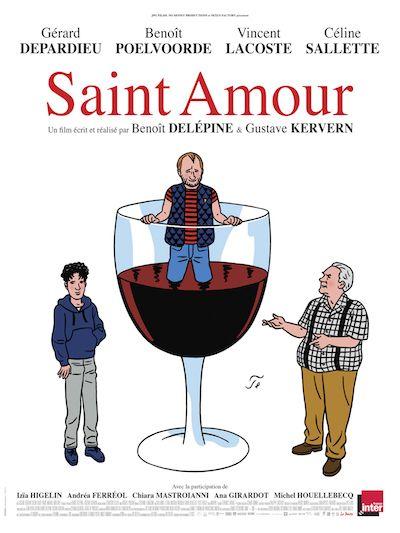 Résultats concours Saint-Amour : 10 places de ciné gagnées