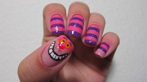 Cheshire cat nails =)