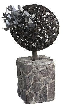 Outdoor Decor :: Freestanding Decorative Sculpture :: Butterfly Evolution Silver Outdor Garden Sculpture -