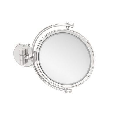 Allied Brass Universal Extendable Mirror Magnification: 3x, Finish: Polished Chrome