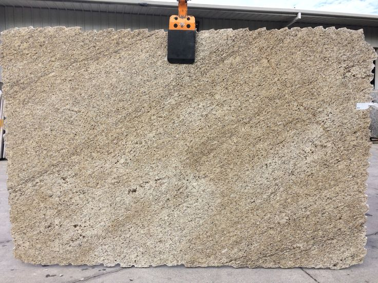 #GialloOrnamental #granite is a veined granite with a creamy white background and dark gray and brown veins. Giallo Ornamental is perfect #granitecountertops for light and dark #kitchencabinet.
