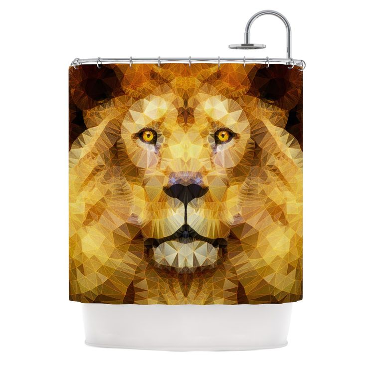 gold and brown shower curtain. Ancello  Lion King Yellow Brown Shower Curtain Best 25 shower curtains ideas on Pinterest