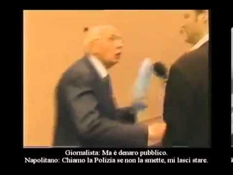 Napolitano Censurato - Il Video Che i TG non fanno vedere