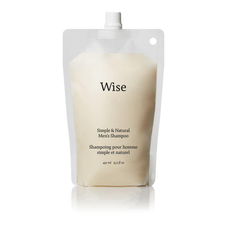 Wise Birch Bark Daily Shampoo 450 ml Refill Bag