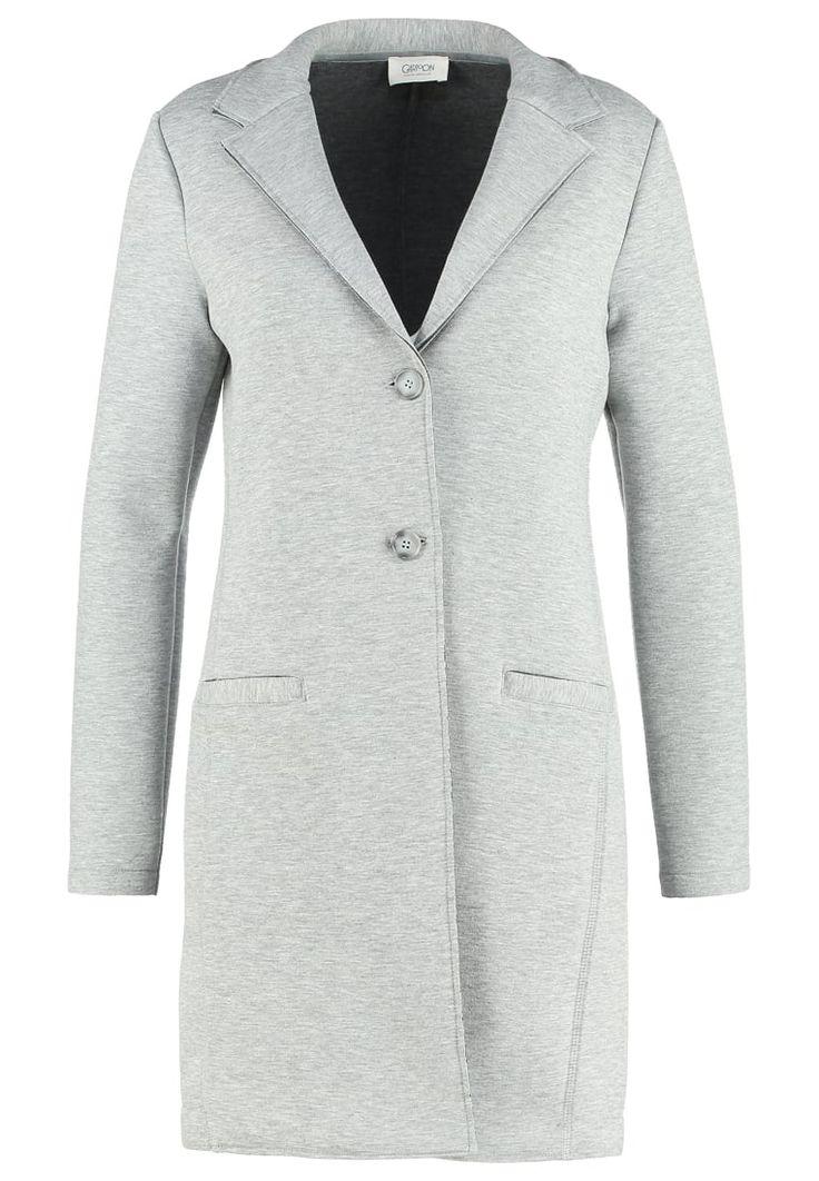 Cartoon Krótki płaszcz light grey melange