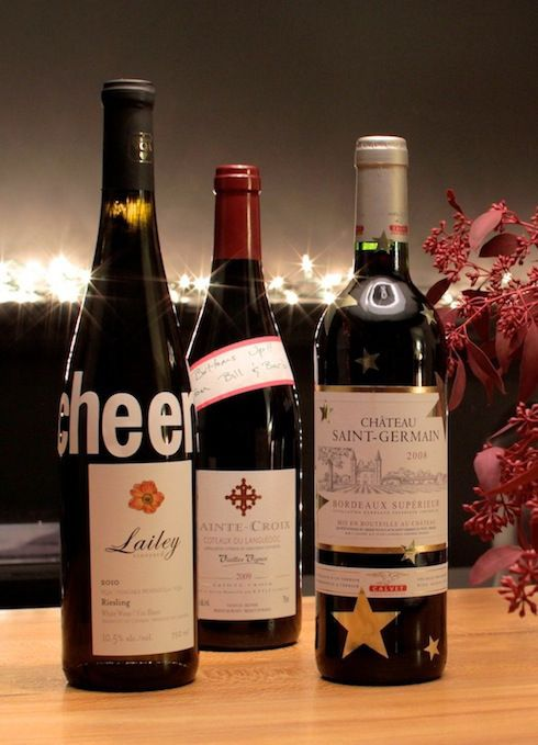 1 Easy Way to Decorate Wine Bottles