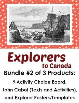 Explorers to Canada - Bundle #2 of 3 Products