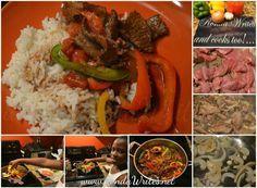 Trying Fay's Jamaican Pepper Steak recipe!  http://www.rondawrites.net/Blogs/Reviews/Fays-Pepper-Steak-Recipe-CookLikeAJamaican-com.html