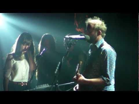 Bon Iver and The Staves - Wembley Arena - 08/11/12 - re:Stacks - HD